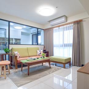 现代风装修效果图:现代感好宅 家里处处是风景