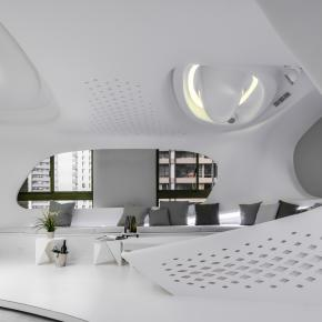 现代风装修效果图:自然不造作 零角度唯美宅