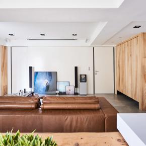 简约风装修效果图:让裸露成为空间中最美的一隅