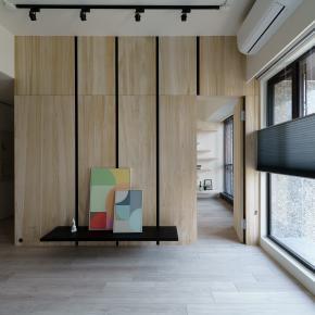 北欧风装修效果图:无边光色的简约北欧宅