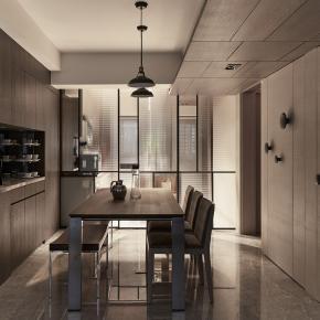 现代风装修效果图:主厨之家