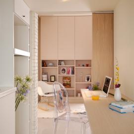 沐浴陽光的Mini house