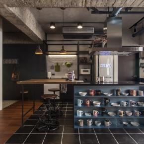 21坪的品味工業居家宅