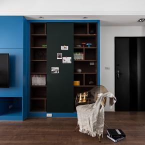 休闲多元风装修效果图:Fiala Florist英国蓝调