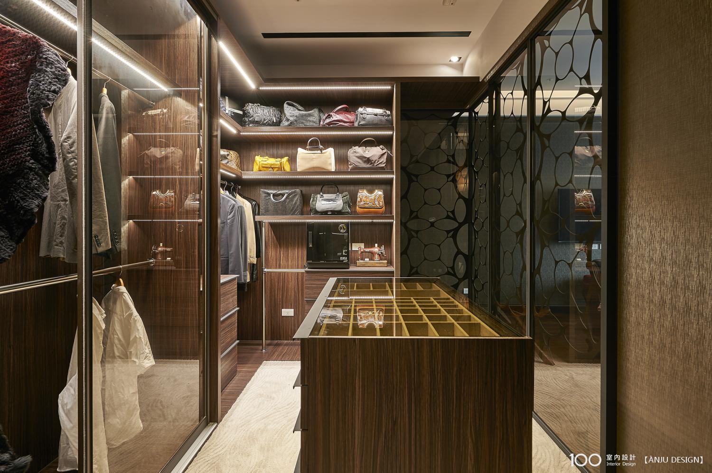 美式風更衣室