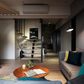 休闲多元风装修效果图:40坪老屋翻新,别具特色