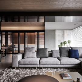 多樣元素拼貼和諧豐富的家