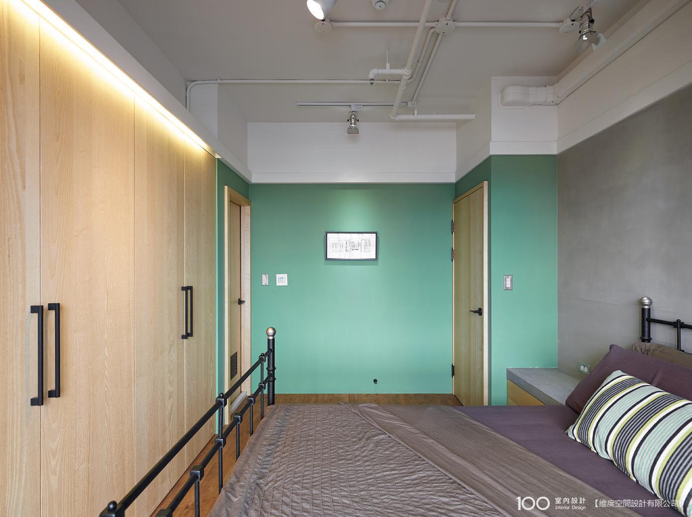 LOFT風臥室