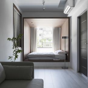 现代风装修效果图:Chin Residence