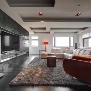 现代风装修效果图:方景之家