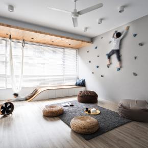客廳即是孩子的遊樂場