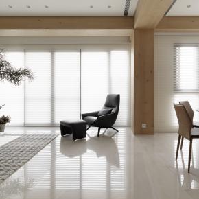 现代风装修效果图:现代简约的慵懒日光宅