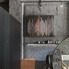 现代风装修效果图:luna salon