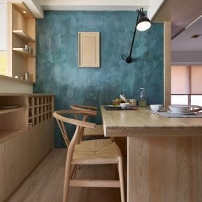 日式简约风装修效果图:31坪日式北欧宅