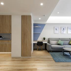 北欧风装修效果图:清新北欧现代温暖宅