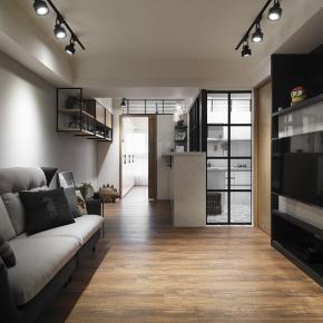 现代风装修效果图:引光入室