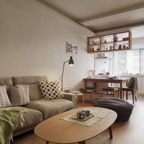 日式简约风装修效果图:无印之家