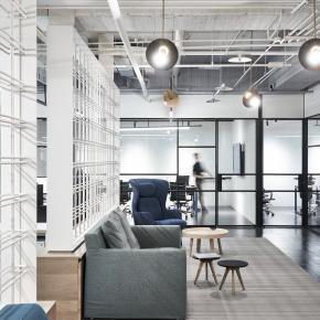 混搭风装修效果图:无限创意科技办公室