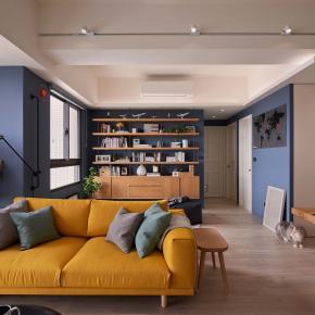 休闲多元风装修效果图:Impression Blue─ AHTOH & YANA的家