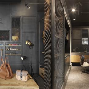 混搭风装修效果图:Ming leather studio