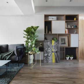 北欧风装修效果图:都会清新双人公寓