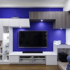 小坪數創造大空間!系統傢俱締造完美收納機能小宅